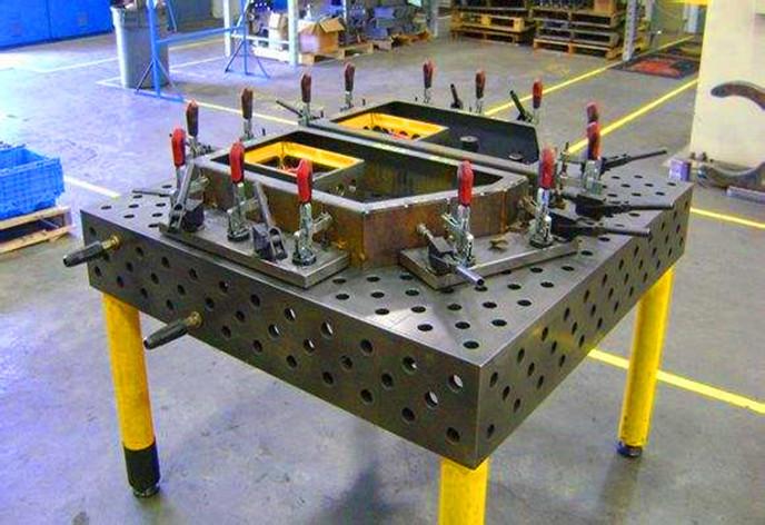 湖北三维柔性焊接平台加工