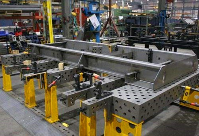 三维柔性焊接平台功能