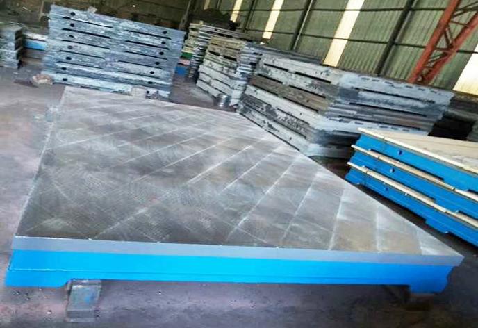 大型铸铁平板平台